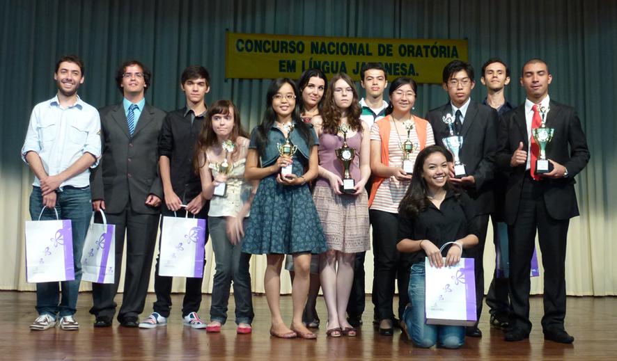 Participantes do 18º Concurso Nacional de Oratória realizada em Manaus