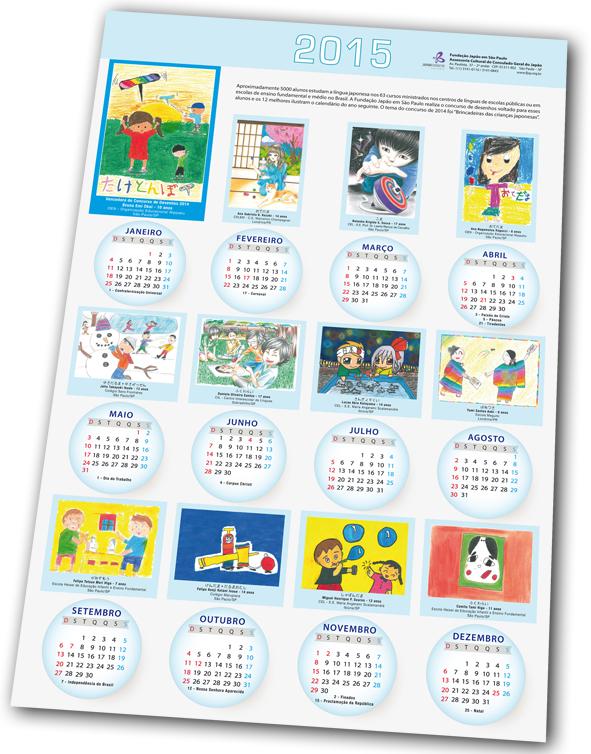calendario escolhido mika
