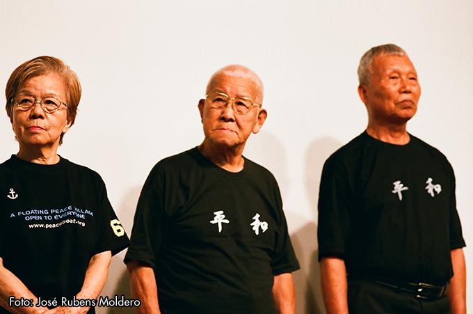 Resultado de imagem para Sobreviventes de Hiroshima relatam drama da bomba atômica em peça teatral em SP