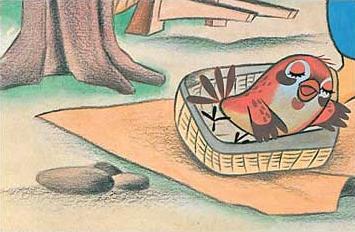 Kamishibai - O pardal que perdeu a língua