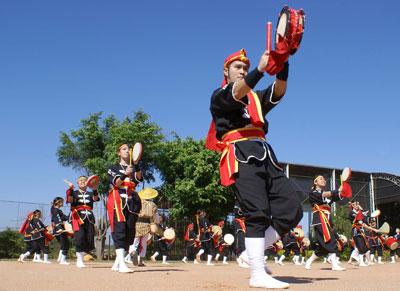 EISÃ: dança de tambores de Okinawa