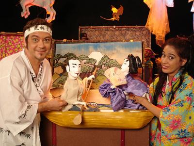 Mukashi  Mukashi - era uma vez no Japão - atores